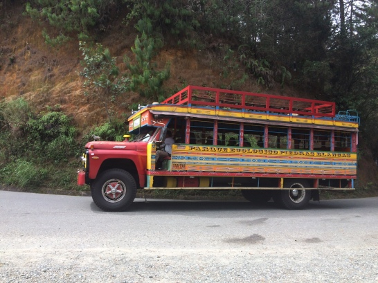 The quintessential Colombian Bus